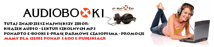 Forum EBOOKI : AUDIOBOOKI : EPRASA : KURSY MP3 : PDF : ePUB Strona G��wna